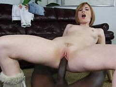 Allison Wyte lives up to her name. Of all the white bitches in my porno inventory this one must be the whitest. However, she can drain a black cock as well as the other girls who take up room under my bed. I wish you could have seen the looks on my neighbor's faces as I brought in yet another black cock slut for my own porn stash. I had my camera batteries fully charged, a blank tape, and all the lube needed which was a recipe for another home movie for your viewing pleasure. Her cock sucking abilities were second to none and she took care of me like a champ. I almost felt guilty knowing that I lied to her about this not showing up online. I face fucked her and look closely so you can see the tears running down her face fucking up her mascara. Yeah, that's how I roll. I turned this ho around and had to slide my third leg in slowly because this pussy didn't really know the ways of the black cock. After inch number 8 I was home free and jammed the remaining five in as her screams shook my apartment walls. I wanted to fuck her forever but knew that was impossible since my neighbors would end up calling the cops because it sounded like I was killing the bitch but I now have video evidence that she was having the time of her life.