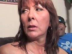 Brunette woman is thinking about rough fuck