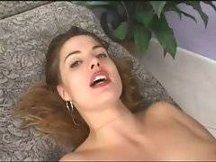 Breasted white chick greatly enjoys hard anal fucking.