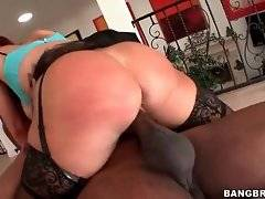 Slutty Tiffany Mynx gets ride on his black dick