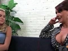 In this porn video you can see charming Janet Mason