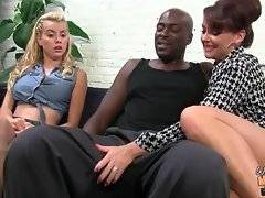 Hot Janet Mason likes to suck big and black dick