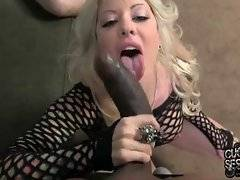 Good-looking Helly Mae Hellfire is here to suck black dick