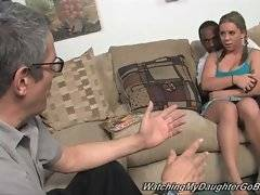 Allie Foster is pissed of with her dad`s racial prejudice.