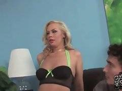 Tara Lynn Fox is already horny and she needs big black cock without delay.