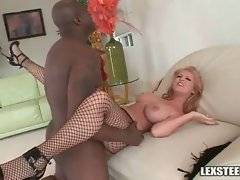 Sophie Dee loves to have her welcome pussy stretched by Lexington Steele.