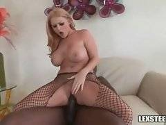 Sophie wants to taste her pussy juices from Lexington`s rod.