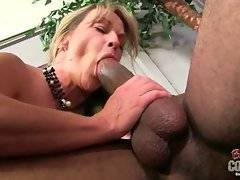 Hot Shayla LaVeaux does her best to pleasure her black partner.
