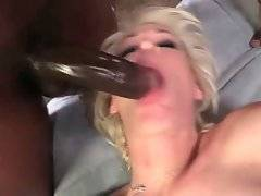 Muscled black dude thoroughly bangs Mikki Lynn`s butt hole.