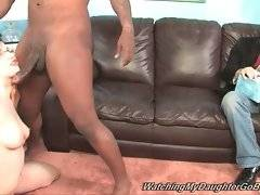 Horny Rico Strong fucks Tatianna Kush`s welcome pussy and mouth.