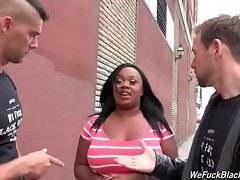 Jayden Starr doesn`t mind to have some fun with two white guys.