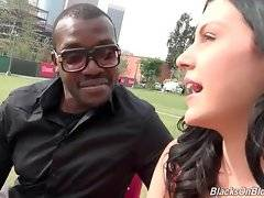 Marley Matthews confesses she`s fond of fucking with black guy.
