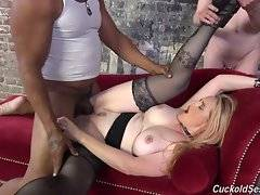 Hairy pussy take a creampie